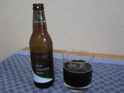Chocolate Mint Beer