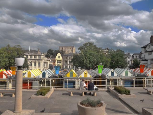 Noriwch market place