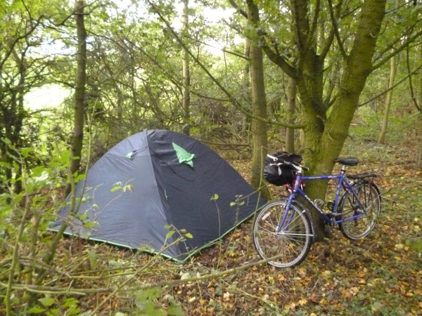 Thorndon camp site.