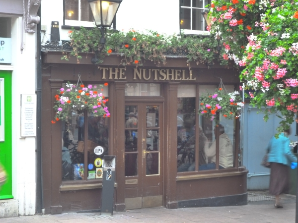 Smallest pub in the UK.