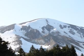 Mt. Azuma crater