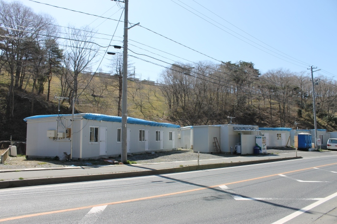Tsunami refugee shelters