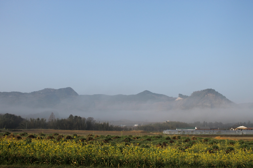 Dawn on Boso Peninsula