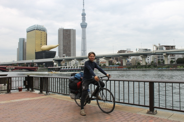 Arriving back in Asakusa where I set off from some 6 months previously