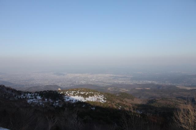 Looking down upon Fukushima from the Bandai Azuma Skyline